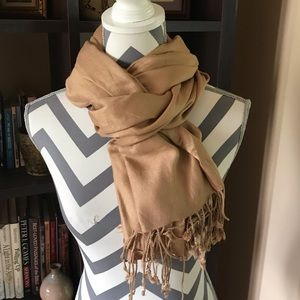 FREE IN $25 BUNDLE Tan Scarf
